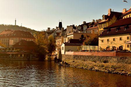 Best Moldau river lunch-spot