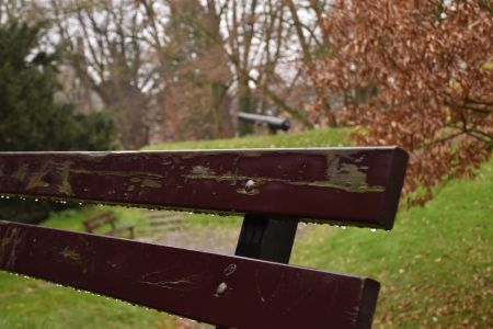 Dripping Bench