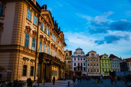 Prague old town square